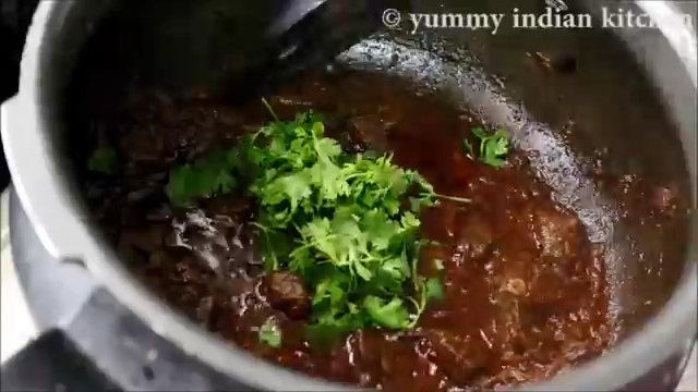 adding spices and herbs to mutton liver