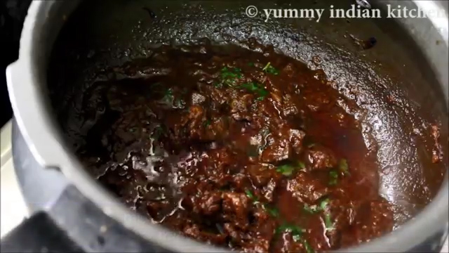 cooking few minutes and serving the mutton liver