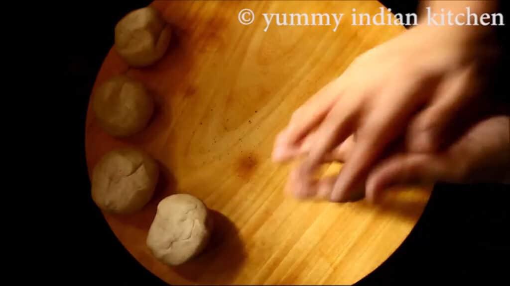 making round balls