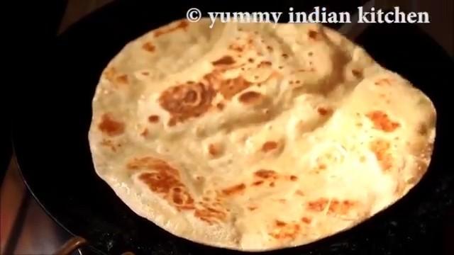 serve the soft chapati