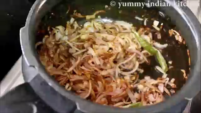 sauteing until onions turn slight brown