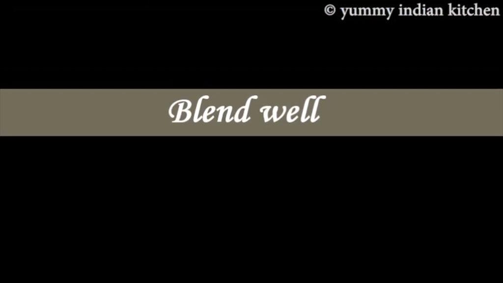 blending well
