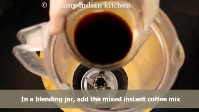 adding this coffee decoction to the jar