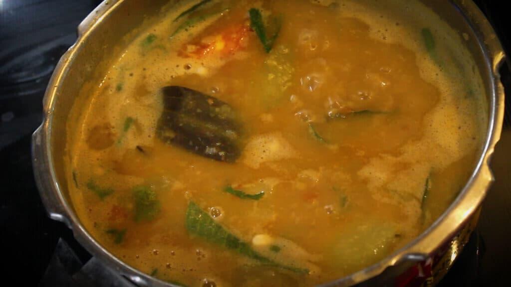 boiling the dalcha recipe