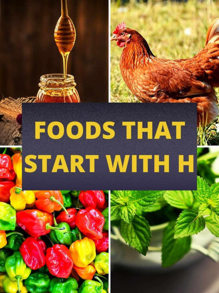 foods that start with hh